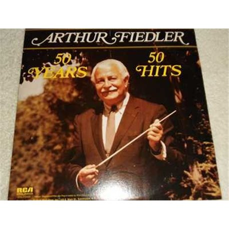 Arthur Fiedler - 50 Years 50 Hits LP Record For Sale