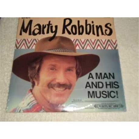 Marty Robbins - A Man And His Music LP Record For Sale