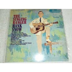 Hank Snow - The Singing Ranger LP Record For Sale