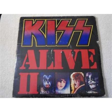 Kiss - Alive II 2 Two 2x LP Record Album With Booklet For Sale