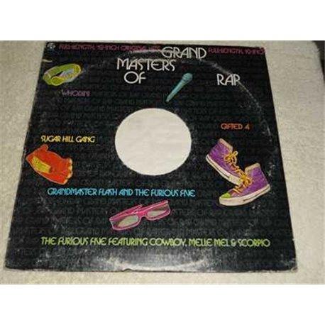 Grand Masters Of Rap - 80s Rap Artists LP Vinyl Record For Sale