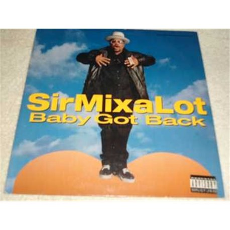 """Sir Mix A Lot - Baby Got Back 12"""" Vinyl Record For Sale"""