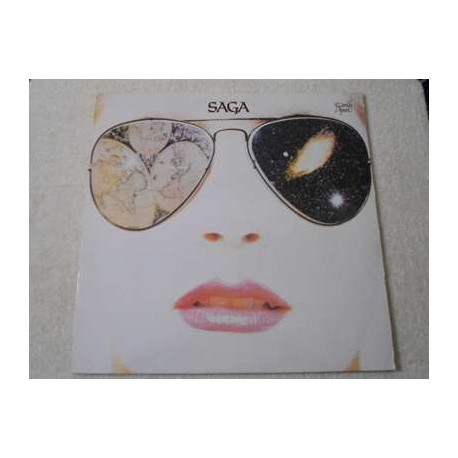 Saga - Worlds Apart Vinyl LP Record For Sale