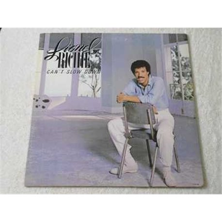 Lionel Richie - Cant Slow Down Vinyl LP Record For Sale