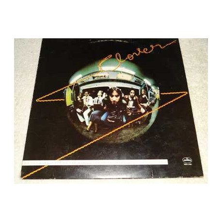 Clover - Love On The Wire - Huey Lewis Vinyl Record For Sale