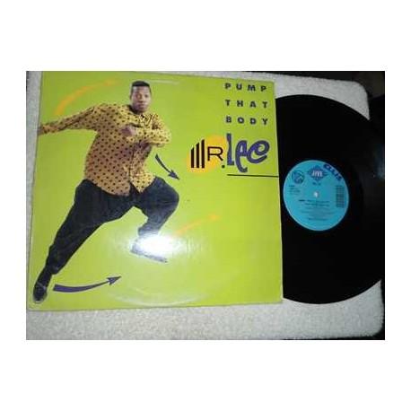 Mr Lee - Pump That Body Vinyl LP Record For Sale