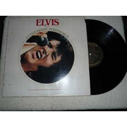 Elvis - Legendary Performer Vol 1 and 2 Vinyl LP Records For Sale