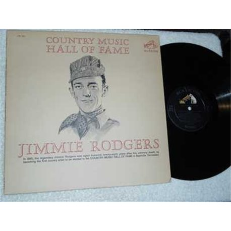 Jimmie Rodgers - Country Music Hall Of Fame Vinyl Record For Sale