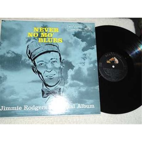 Jimmie Rodgers - Never No Mo Blues Vinyl LP Record For Sale