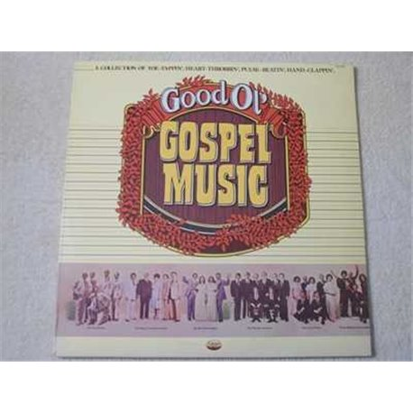 Gospel Music - Good Ol' Gospel Music LP Vinyl Record