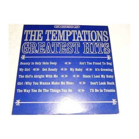 The Temptations - Greatest Hits Vinyl LP Record For Sale