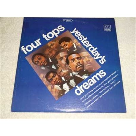 The Four Tops - Yesterdays Dreams Vinyl LP Record For Sale