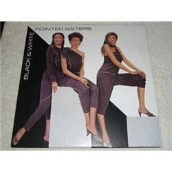 The Pointer Sisters - Black And White Vinyl LP Record For Sale