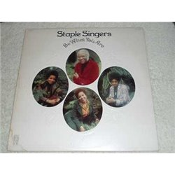 The Staple Singers - Be What You Are PROMO Vinyl LP Record For Sale