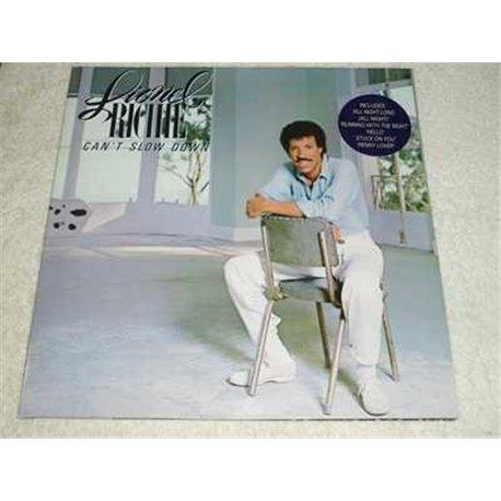 Lionel Richie - Cant Slow Down German Import Vinyl LP Record For Sale