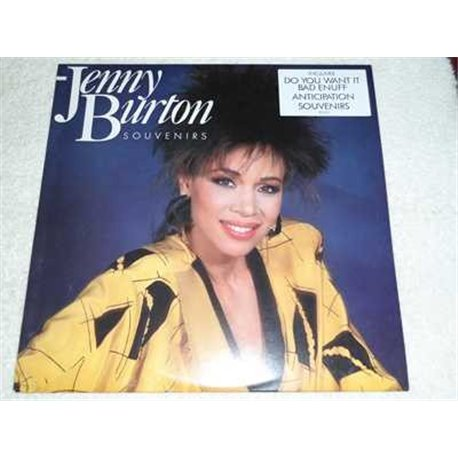 Jenny Burton - Souvenirs Vinyl LP Record For Sale