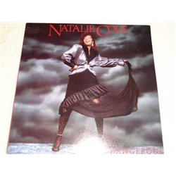 Natalie Cole - Dangerous PROMO Vinyl LP Record For Sale