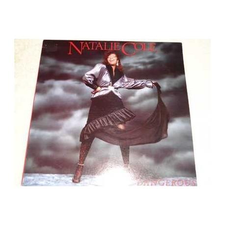 Natalie Cole - Dangerous PROMO Vinyl LP Record For Sale