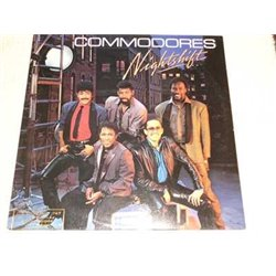 Commodores - Nightshift PROMO Vinyl LP Record For Sale