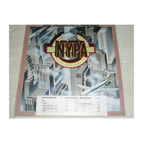 New York Port Authority - Three Thousand Miles From Home PROMO Vinyl LP For Sale