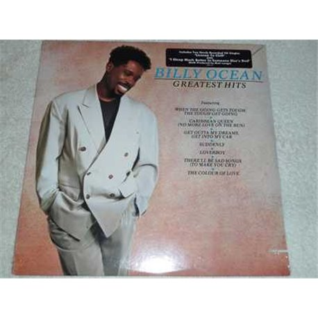 Billy Ocean - Greatest Hits Vinyl LP Record For Sale