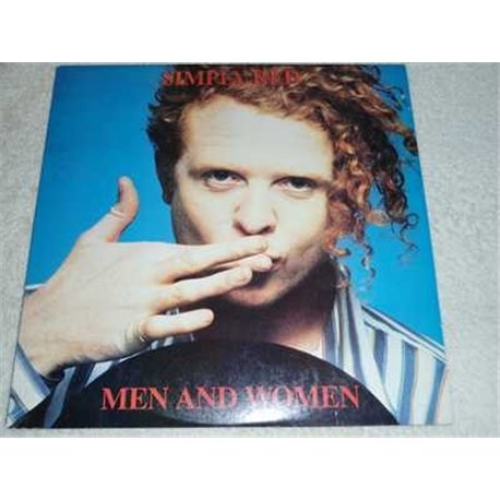 Simply Red - Men And Women Vinyl LP Record For Sale