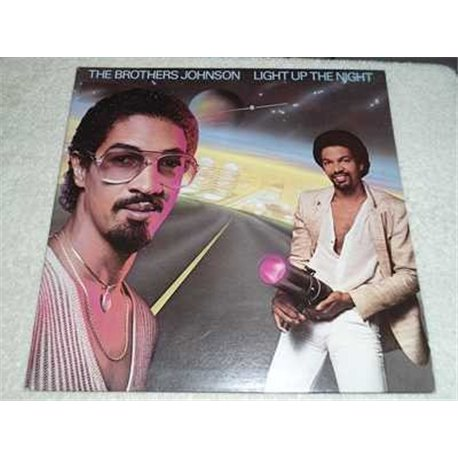 The Brothers Johnson - Light Up The Night Vinyl LP Record For Sale