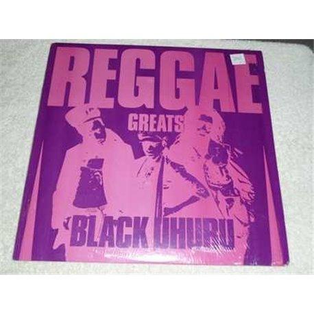 Black Uhuru - Reggae Greats Vinyl LP Record For Sale