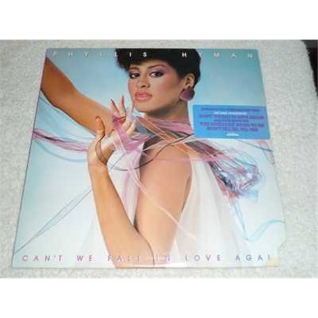 Phyllis Hyman - Cant We Fall In Love Again PROMO Vinyl LP For Sale