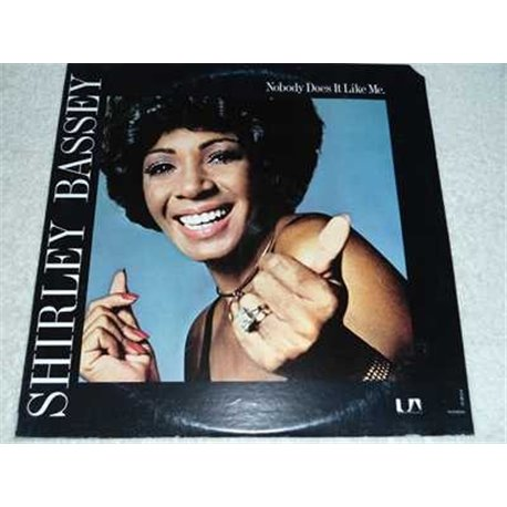 Shirley Bassey - Nobody Does It Like Me Vinyl LP Record For Sale