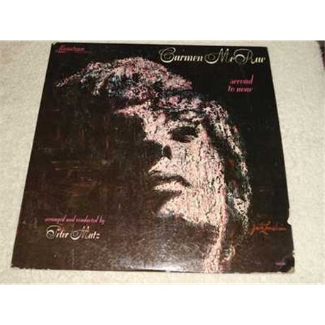 Carmen McRae - Second To None Vinyl LP Record For Sale