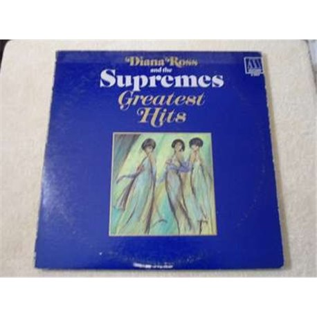 Diana Ross And The Supremes - Greatest Hits Vinyl LP Record For Sale