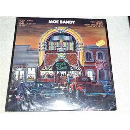 Moe Bandy - Soft Lights And Hard Country Music Vinyl LP Record For Sale