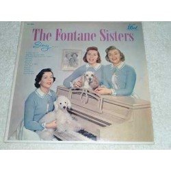The Fontane Sisters - Sing Vinyl LP Record For Sale