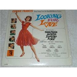 Connie Francis - Looking For Love Soundtrack LP Record For Sale
