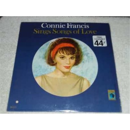 Connie Francis - Sings Songs Of Love Vinyl LP Record For Sale