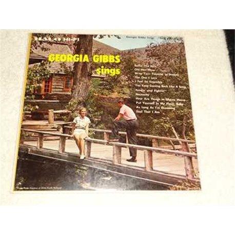Georgia Gibbs - Sings Vinyl LP Record For Sale