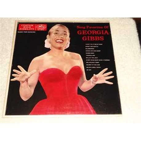 Georgia Gibbs - Song Favorites Of Vinyl LP Record For Sale