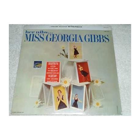 Georgia Gibbs - Her Nibs Vinyl LP Record For Sale