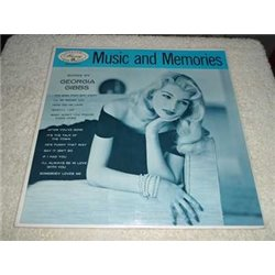 Georgia Gibbs - Music And Memories Vinyl LP Record For Sale