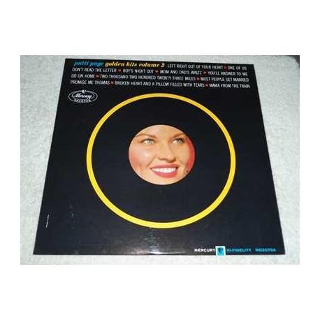 Patti Page - Golden Hits Volume 2 Vinyl LP Record For Sale