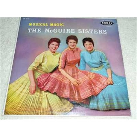 The McGuire Sisters - Musical Magic Vinyl LP Record For Sale
