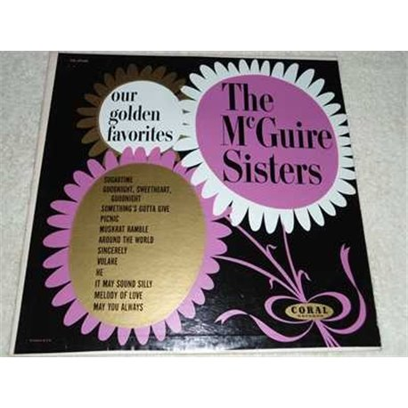The McGuire Sisters - Our Golden Favorites Vinyl LP Record For Sale