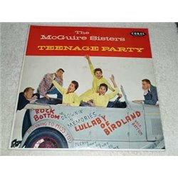 The McGuire Sisters - Our Golden Favorites PROMO Vinyl Record For Sale