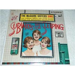 The McGuire Sisters - Subways Are For Sleeping Vinyl Record For Sale