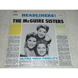 The McGuire Sisters - Headliners Vinyl LP Record For Sale