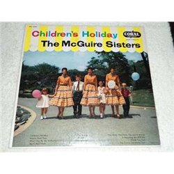 The McGuire Sisters - Childrens Holiday Vinyl LP Record For Sale