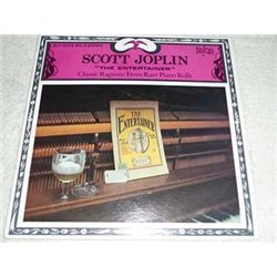 Scott Joplin - Classic Ragtime Piano Rolls Vinyl LP Record For Sale