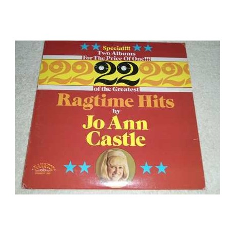 Jo Ann Castle - 22 Ragtime Hits Vinyl LP Record For Sale