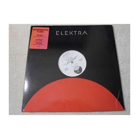 Grandmaster Flash - Style PROMO Vinyl LP Record For Sale